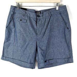 NWT Nicole Miller Cotton Shorts 12